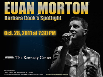 kennedy center euan morton barbara cook's spotlight 2011