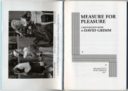 measure for pleasure  pages 1 and 2