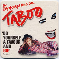 taboo drink mat front