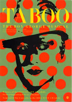 taboo japanese flyer front